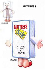 Inflatable Mattress Costume